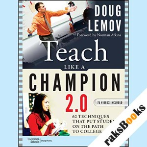 Teach Like a Champion 2.0 audiobook cover art