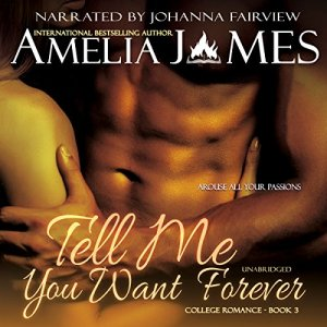 Tell Me You Want Forever audiobook cover art