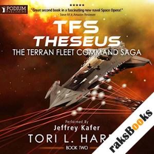TFS Theseus audiobook cover art