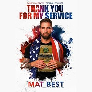 Thank You for My Service audiobook cover art
