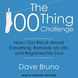 The 100 Thing Challenge audiobook cover art