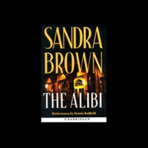 The Alibi audiobook cover art
