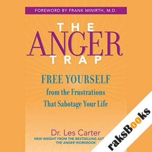 The Anger Trap audiobook cover art