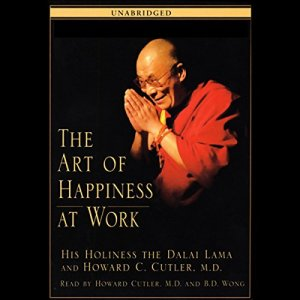 The Art of Happiness at Work audiobook cover art