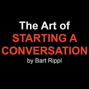 The Art of Starting a Conversation audiobook cover art