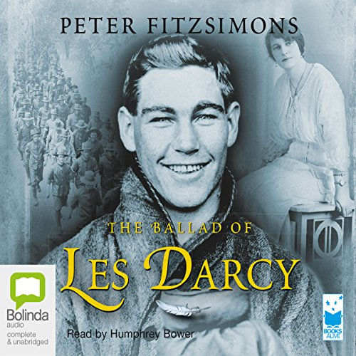 The Ballad of Les Darcy audiobook cover art