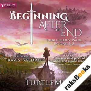 The Beginning After the End: Publisher's Pack audiobook cover art