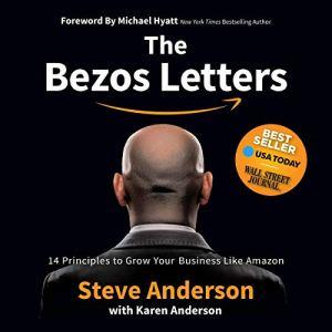 The Bezos Letters audiobook cover art