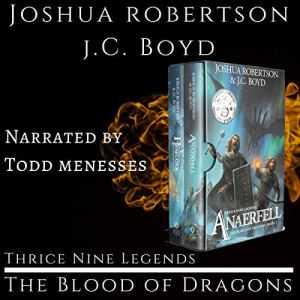 The Blood of Dragons audiobook cover art