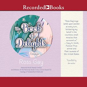 The Book of Delights audiobook cover art