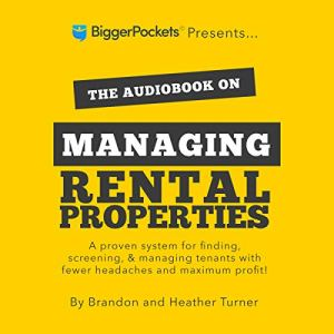 The Book on Managing Rental Properties audiobook cover art