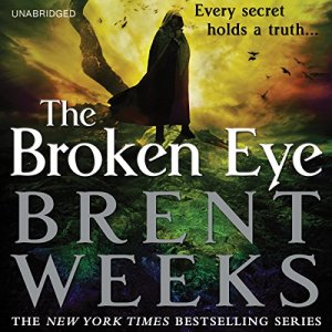 The Broken Eye audiobook cover art