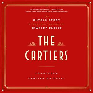 The Cartiers audiobook cover art