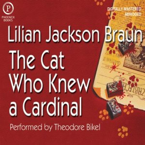 The Cat Who Knew a Cardinal audiobook cover art