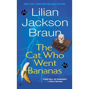 The Cat Who Went Bananas audiobook cover art
