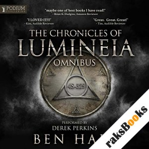 The Chronicles of Lumineia Omnibus: Books 1-3 audiobook cover art