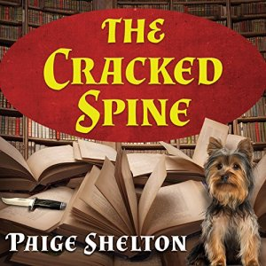 The Cracked Spine audiobook cover art