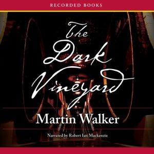 The Dark Vineyard audiobook cover art