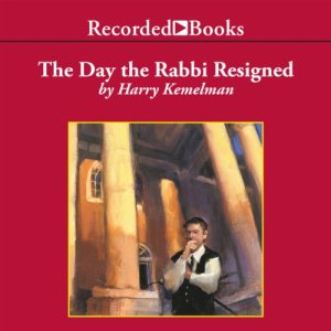 The Day the Rabbi Resigned audiobook cover art