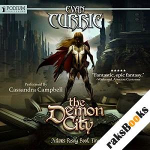 The Demon City audiobook cover art