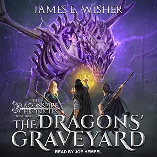The Dragons' Graveyard audiobook cover art