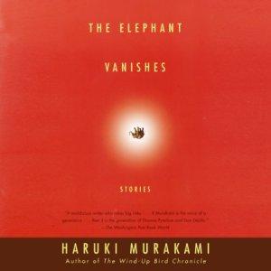 The Elephant Vanishes audiobook cover art
