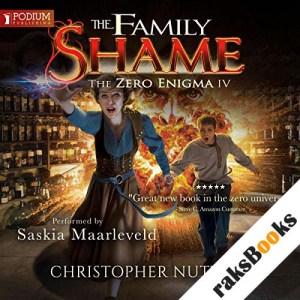 The Family Shame audiobook cover art
