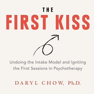 The First Kiss audiobook cover art