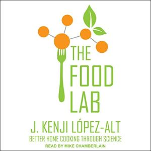 The Food Lab audiobook cover art