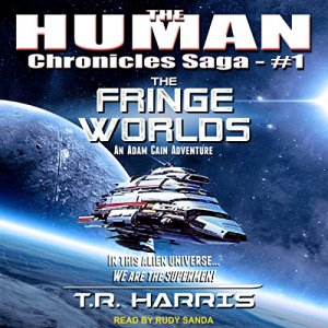 The Fringe Worlds audiobook cover art