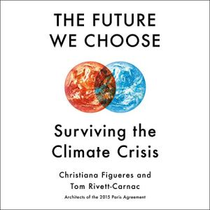 The Future We Choose audiobook cover art