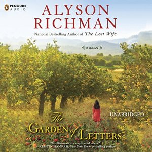 The Garden of Letters audiobook cover art