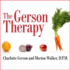 The Gerson Therapy audiobook cover art