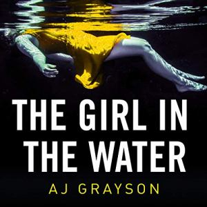 The Girl in the Water audiobook cover art