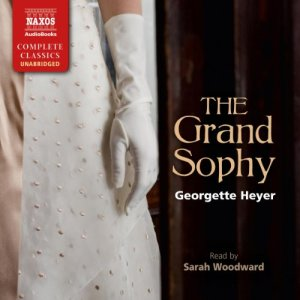 The Grand Sophy audiobook cover art
