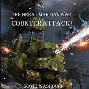 The Great Martian War: Counterattack audiobook cover art