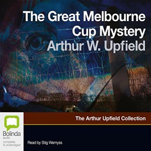 The Great Melbourne Cup Mystery audiobook cover art