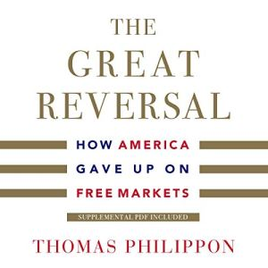 The Great Reversal audiobook cover art