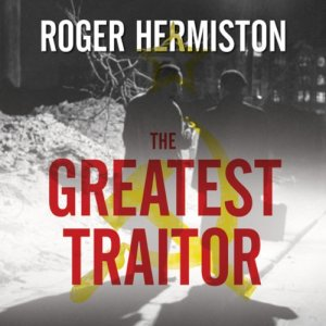 The Greatest Traitor audiobook cover art