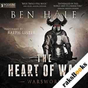 The Heart of War audiobook cover art