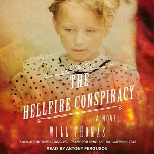 The Hellfire Conspiracy audiobook cover art