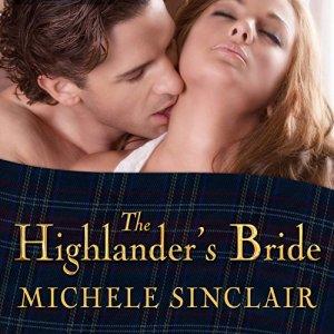 The Highlander's Bride audiobook cover art