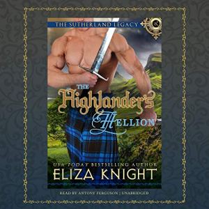 The Highlander's Hellion audiobook cover art