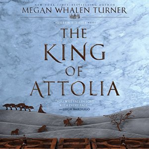The King of Attolia audiobook cover art