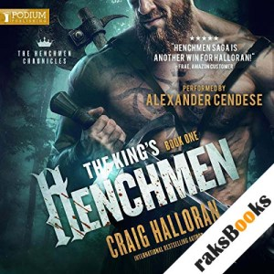 The King's Henchmen audiobook cover art