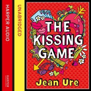 The Kissing Game audiobook cover art