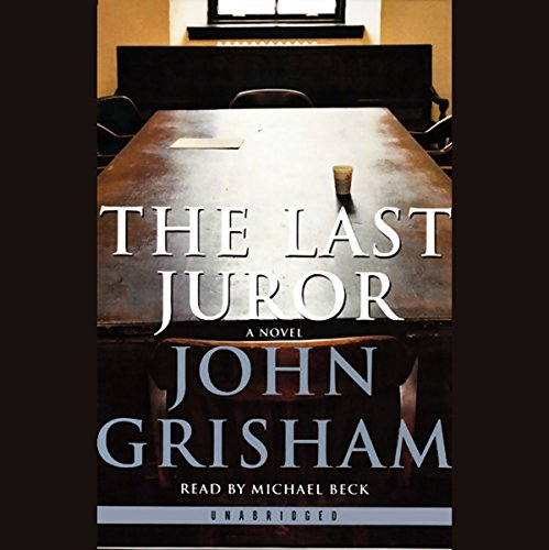 The Last Juror audiobook cover art