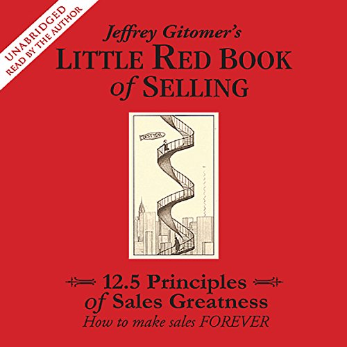 The Little Red Book of Selling audiobook cover art