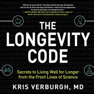 The Longevity Code audiobook cover art