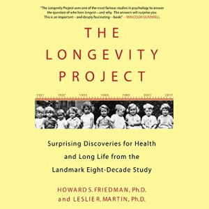 The Longevity Project audiobook cover art